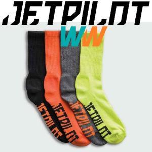 JETPILOT CORP CREW SOCKS 4PAIRS ジェットパイロット コープ メンズ ソックス 4足組 moshpunx