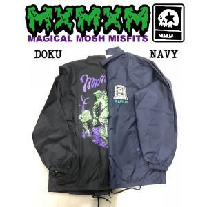 MXMXM GRAVEYARD ZOMBIES COACH JKT マジカルモッシュミスフィッツ MAGICAL MOSH MISFITS コーチジャケット|moshpunx