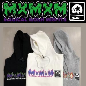 MXMXM MAGICAL FIRE MISFITS PARKA マジカルモッシュミスフィッツ パーカー プルオーバー|moshpunx