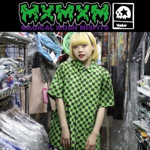 MxMxM DORO CHECKER SHIRT マジカルモッシュミスフィッツ シャツ|moshpunx