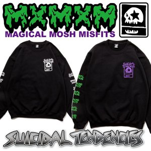 MxMxM SUICIDAL TENDENCIES MAGICAL MOSH TENDENCIES SWEAT スイサイダル マモミ トレーナー|moshpunx