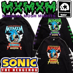 MxMxM x SONIC THE HEDGEHOG MAGICAL SONIC MISFITS LONG TEE|moshpunx