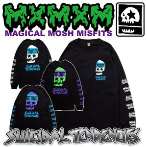 MxMxM SUICIDAL TENDENCIES MAGICAL MOSH TENDENCIES LONG TEE スイサイダル マジカル|moshpunx