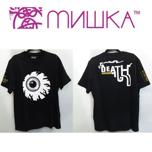 MISHKA NEW KEEP WATCH TEE ミシカ Tシャツ BLACK|moshpunx