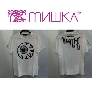 MISHKA NEW KEEP WATCH TEE ミシカ Tシャツ WHITE|moshpunx