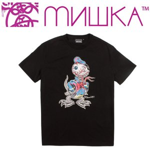 MISHKA LAMOUR MASCOT T-SHIRT ミシカ Tシャツ BLACK|moshpunx