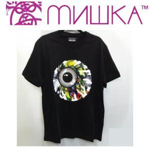 MISHKA LAMOUR ENDLESS BUMMER KEEP WATCH TEE ミシカ Tシャツ BLACK|moshpunx