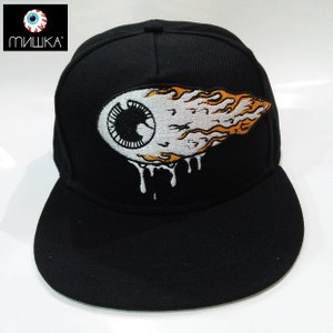 MISHKA KEEP WATCH SNAPBACK CAP FIREBALL ミシカ キャップ|moshpunx