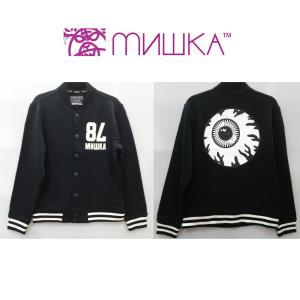 MISHKA スウェット スタジャン ミシカ 78 ジャケット KEEPWATCH|moshpunx