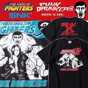 PUNKDRUNKERS x SNK KOF.TEE パンクドランカーズ THE KING OF FIGHTERS キングオブファイターズ|moshpunx