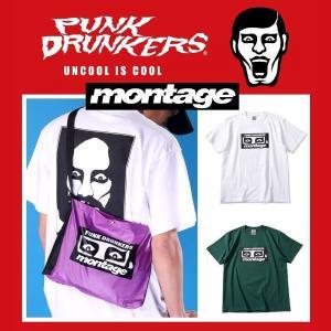 PUNKDRUNKERS x montage モンタージュあいつTEE Tシャツ|moshpunx