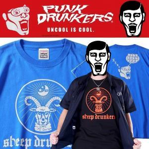 PUNKDRUNKERS 酔っぱらって寝るTEE パンクドランカーズ Tシャツ|moshpunx
