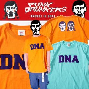 PUNKDRUNKERS DNA.TEE パンクドランカーズ Tシャツ|moshpunx