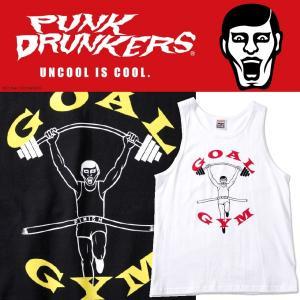 PUNKDRUNKERS ゴールジムタンク パンクドランカーズ Tシャツ|moshpunx