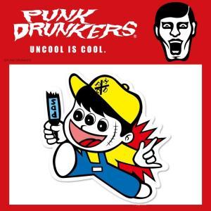 PUNKDRUNKERS 危険坊や ステッカー パンクドランカーズ moshpunx