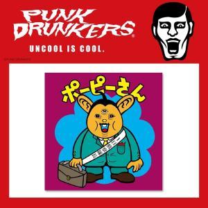 PUNKDRUNKERS PDSキャラクターシール ポーピーさん パンクドランカーズ moshpunx