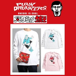 【10月入荷予定】 PUNKDRUNKERS x タツノコプロ ハクション大魔王トリックロンTEE パンクドランカーズ|moshpunx
