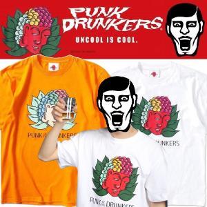PUNKDRUNKERS カラフル大仏TEE パンクドランカーズ moshpunx