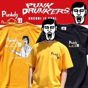 PUNKDRUNKERS 21周年TEE パンクドランカーズ Tシャツ|moshpunx