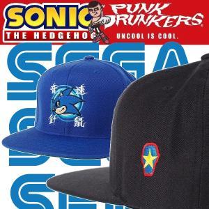 【予約】PUNKDRUNKERS x SONIC 音速CAP パンクドランカーズ SEGA ソニック・ザ・ヘッジホッグ moshpunx