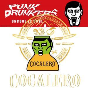 【予約】PUNKDRUNKERS x COCALERO コカボムあいつステッカー パンクドランカーズ moshpunx