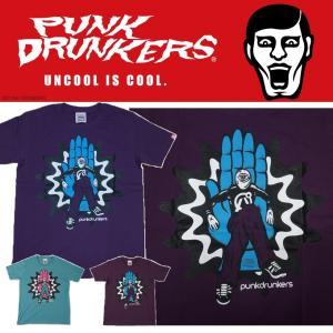 PUNKDRUNKERS 支配下TEE パンクドランカーズ Tシャツ|moshpunx