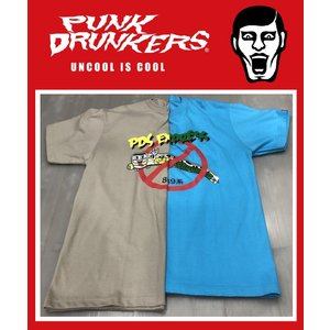 PUNKDRUNKERS トレインTEE パンクドランカーズ Tシャツ|moshpunx