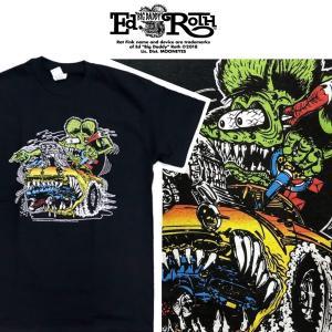 RATFINK Tシャツ CAR ラットフィンク エドロス|moshpunx