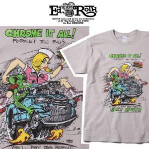RATFINK Tシャツ CHROME ラットフィンク エドロス|moshpunx