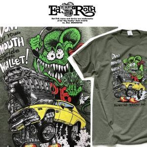RATFINK DONT MOUTH WALLET! Tシャツ ラットフィンク エドロス moshpunx