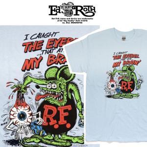 RATFINK Tシャツ EYEBALL ラットフィンク エドロス moshpunx