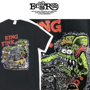 RATFINK KINGFINK Tシャツ ラットフィンク エドロス moshpunx