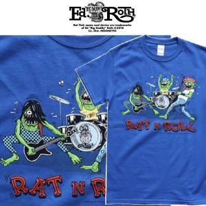 RATFINK RAT N ROLL ラットフィンク エドロス Tシャツ moshpunx