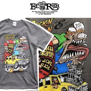 RATFINK Tシャツ Rockin Rollin ラットフィンク エドロス moshpunx