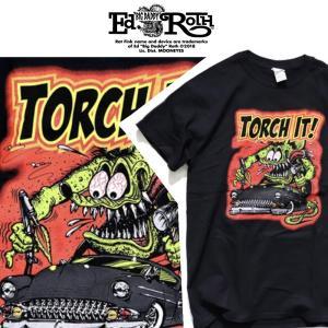 RATFINK Tシャツ TORCH IT ラットフィンク エドロス|moshpunx