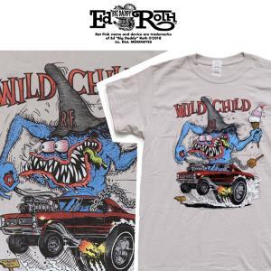 RATFINK Tシャツ WILD CHILD ラットフィンク エドロス|moshpunx