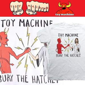TOYMACHINE TM BURY THE HATCHET II トイマシーン WHITE moshpunx