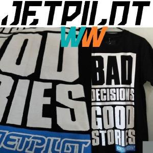JETPILOT BAD DECISIONS TEE ジェットパイロット Tシャツ|moshpunx