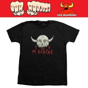 TOYMACHINE トイマシーン TM SKULL TEE Tシャツ BLACK|moshpunx