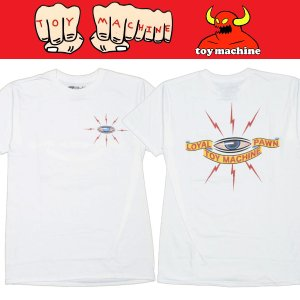 TOYMACHINE LOYAL TEE Tシャツ トイマシーン WHITE moshpunx