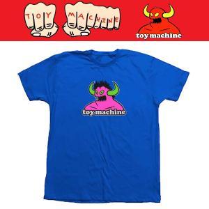 TOYMACHINE 80'S MONSTER TEE Tシャツ トイマシーン BLUE moshpunx