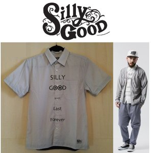 SILLYGOOD シリーグッド S/S DON'T LAST FOREVER SHIRT 半袖 シャツ GRAY|moshpunx