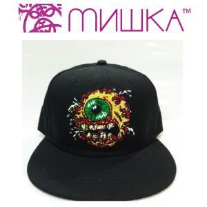 MISHKA GROTESQUE KEEP WATCH SNAPBACK CAP ミシカ キャップ|moshpunx