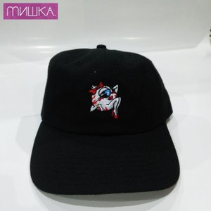 MISHKA MUSE KEEP WATCH CAP ミシカ キャップ BLACK|moshpunx