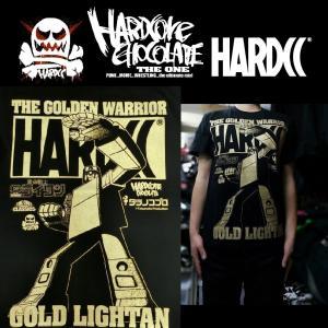 ハードコアチョコレート ゴールドライタン(メカニカル・ダンシング・ブラック) HARDCORE CHOCOLATE|moshpunx