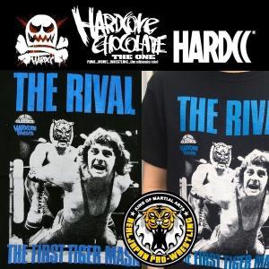 ハードコアチョコレート 初代タイガーマスク/THE RIVAL ONE(ダイナマイトブラック)HARDCORE CHOCOLATE moshpunx