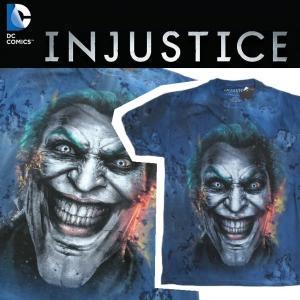 ジョーカー JOKER DC COMICS INJUSTICE VIDEO GAME Tシャツ BATMAN バットマン|moshpunx