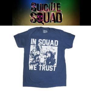 スーサイドスクワッド SUICIDE SQUAD IN SQUAD WE TRUST Tシャツ|moshpunx