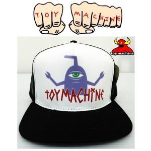 TOYMACHINE トイマシーン T-SECT LOGO CAP キャップ メッシュキャップ|moshpunx