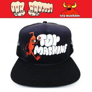 TOYMACHINE トイマシーン JUMP RAMP MESH CAP キャップ メッシュキャップ|moshpunx